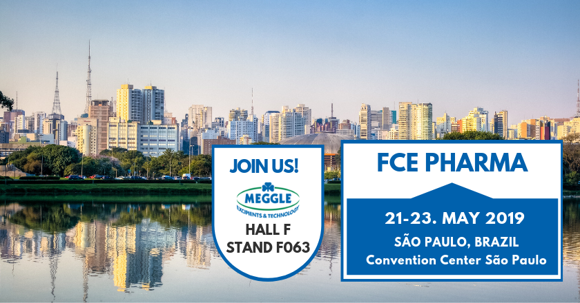 Meggle at FCE Pharma Sao Paulo, Brazil - Visit us at booth F063