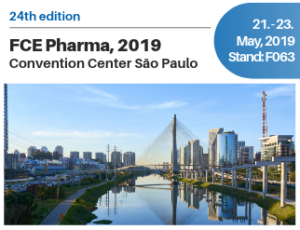 MEGGLE at FCE Pharma 2019. Visit us at booth F063.