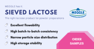 Sieved Lactose for Powder Preparations