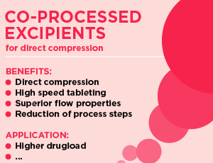 Co-processed Excipients_MEGGLE_Sustained Release