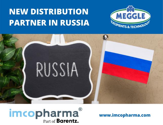 New Distributon Partner IMCoPharma Russia