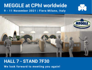 MEGGLE Excipients at CPhI worldwide 2021